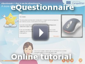 eQuestionnaire online tutorial