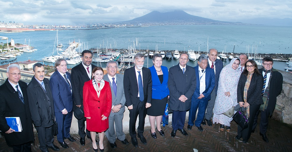 Participants in the Informal Ministerial Meeting in Naples, 30 November 2017