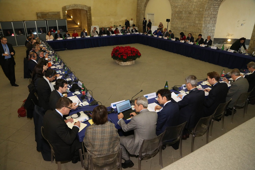 West Med Ministerial meeting Castel Dell' Ovo