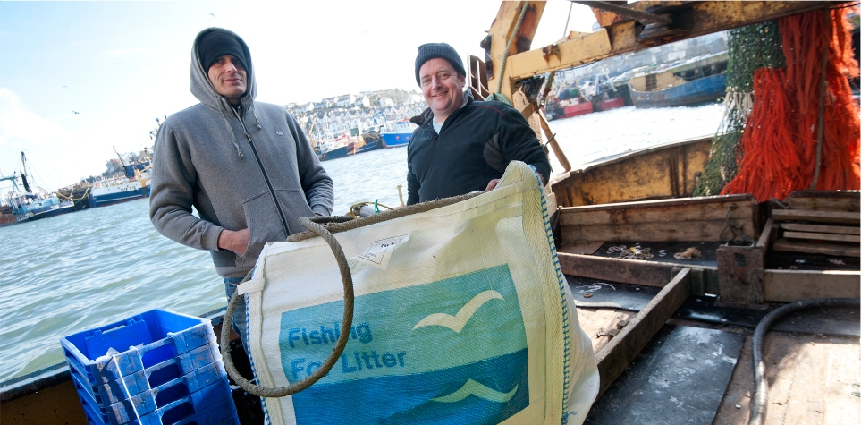 Fishing for Litter, Scotland is one of projects supported by EMFF