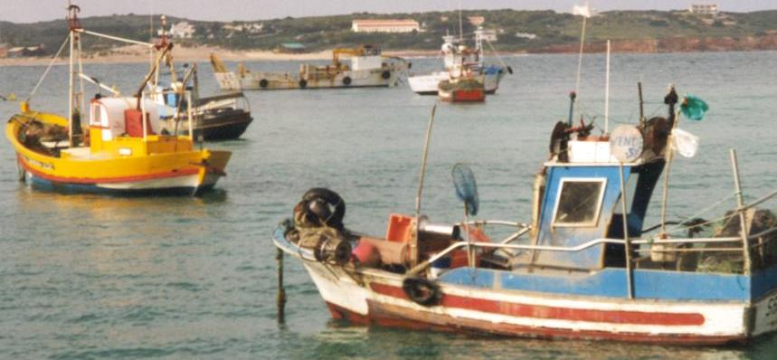 Small fishing boats (Algarve, Portugal), Dominique Levieil