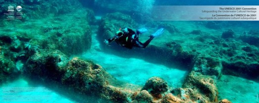 © C. Beltrame, The ancient city of Apollonia, founded by Greek sailors, became an important trade center in among Mediterranean cultures during the first milleanium B.C. The remains of its early foundations are found today under the sea level due to subme